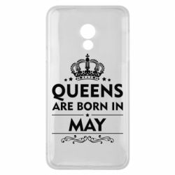 Чехол для Meizu 15 Lite Queens are born in May - FatLine