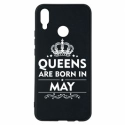 Чехол для Huawei P Smart Plus Queens are born in May - FatLine
