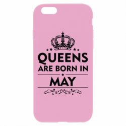 Чехол для iPhone 6 Plus/6S Plus Queens are born in May - FatLine