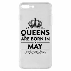 Чехол для iPhone 7 Plus Queens are born in May - FatLine