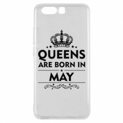 Чехол для Huawei P10 Queens are born in May - FatLine