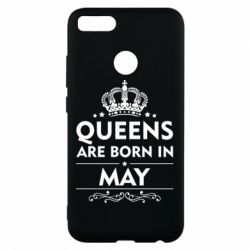 Чехол для Xiaomi Mi A1 Queens are born in May - FatLine