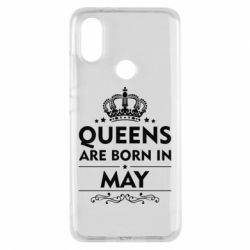 Чехол для Xiaomi Mi A2 Queens are born in May - FatLine