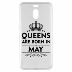 Чехол для Meizu M6 Note Queens are born in May - FatLine