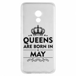 Чехол для Meizu Pro 6 Queens are born in May - FatLine