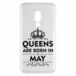 Чехол для Meizu 15 Queens are born in May - FatLine