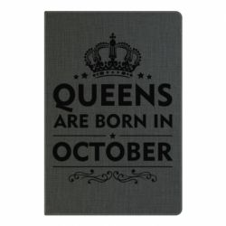 Блокнот А5 Queens are born in October - FatLine