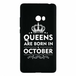 Чехол для Xiaomi Mi Note 2 Queens are born in October - FatLine