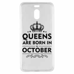 Чехол для Meizu M6 Note Queens are born in October - FatLine