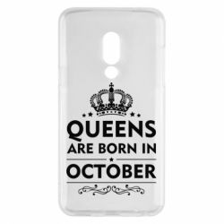 Чехол для Meizu 15 Queens are born in October - FatLine