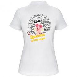 Жіноча футболка поло Queens of the night