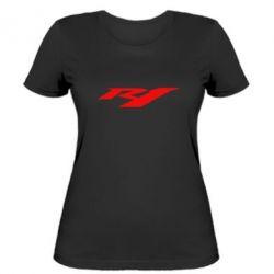 Жіноча футболка R1 - FatLine
