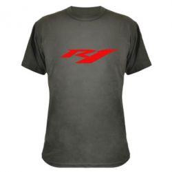 Камуфляжна футболка R1 - FatLine