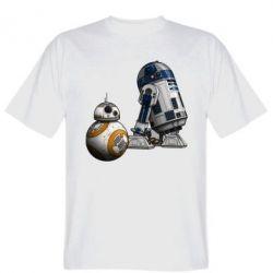 Мужская футболка R2D2 & BB-8 - FatLine
