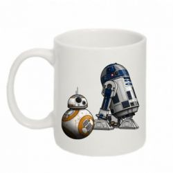 Кружка 320ml R2D2 & BB-8 - FatLine