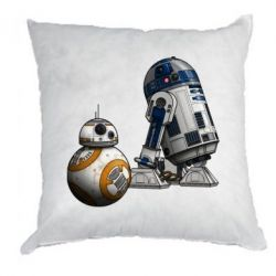 Подушка R2D2 & BB-8 - FatLine
