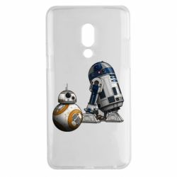 Чехол для Meizu 15 Plus R2D2 & BB-8 - FatLine