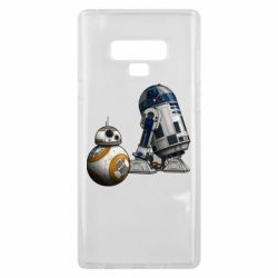 Чехол для Samsung Note 9 R2D2 & BB-8 - FatLine