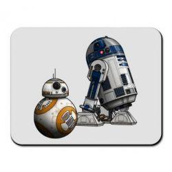 Коврик для мыши R2D2 & BB-8 - FatLine