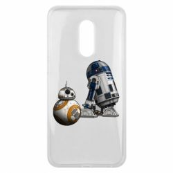 Чехол для Meizu 16 plus R2D2 & BB-8 - FatLine