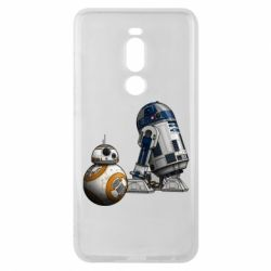 Чехол для Meizu Note 8 R2D2 & BB-8 - FatLine