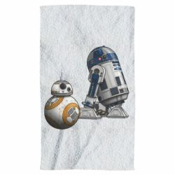 Полотенце R2D2 & BB-8 - FatLine