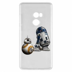 Чехол для Xiaomi Mi Mix 2 R2D2 & BB-8 - FatLine