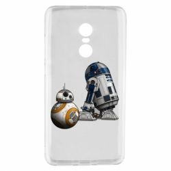 Чехол для Xiaomi Redmi Note 4 R2D2 & BB-8 - FatLine