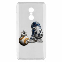 Чехол для Xiaomi Redmi Note 4x R2D2 & BB-8 - FatLine