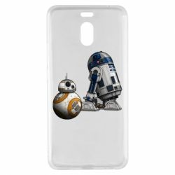 Чехол для Meizu M6 Note R2D2 & BB-8 - FatLine