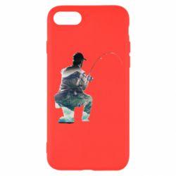 Чехол для iPhone 7 Рабак на колене - FatLine