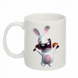 Кружка 320ml Rabbids invasion. Person 11