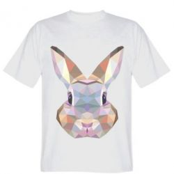 Футболка Rabbit Poly Art