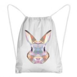 Рюкзак-мешок Rabbit Poly Art