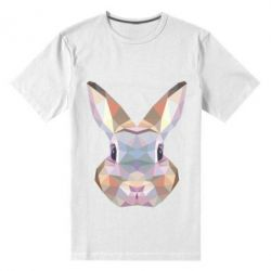 Чоловіча стрейчева футболка Rabbit Poly Art