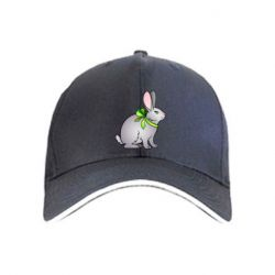 Кепка Rabbit with a green bow