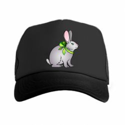 Кепка-тракер Rabbit with a green bow