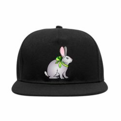 Снепбек Rabbit with a green bow