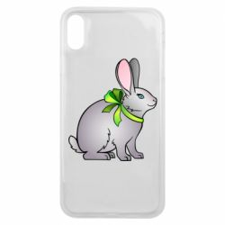 Чехол для iPhone Xs Max Rabbit with a green bow
