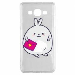 Чохол для Samsung A5 2015 Rabbit with a letter