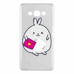Чохол для Samsung A7 2015 Rabbit with a letter