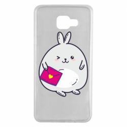Чохол для Samsung A7 2016 Rabbit with a letter