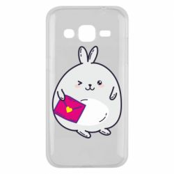 Чохол для Samsung J2 2015 Rabbit with a letter