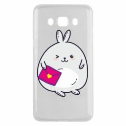 Чохол для Samsung J5 2016 Rabbit with a letter
