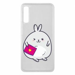 Чохол для Samsung A7 2018 Rabbit with a letter