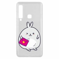 Чохол для Samsung A9 2018 Rabbit with a letter