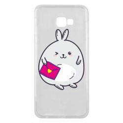 Чохол для Samsung J4 Plus 2018 Rabbit with a letter