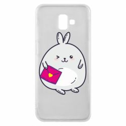 Чохол для Samsung J6 Plus 2018 Rabbit with a letter