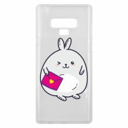 Чохол для Samsung Note 9 Rabbit with a letter