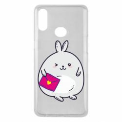 Чохол для Samsung A10s Rabbit with a letter